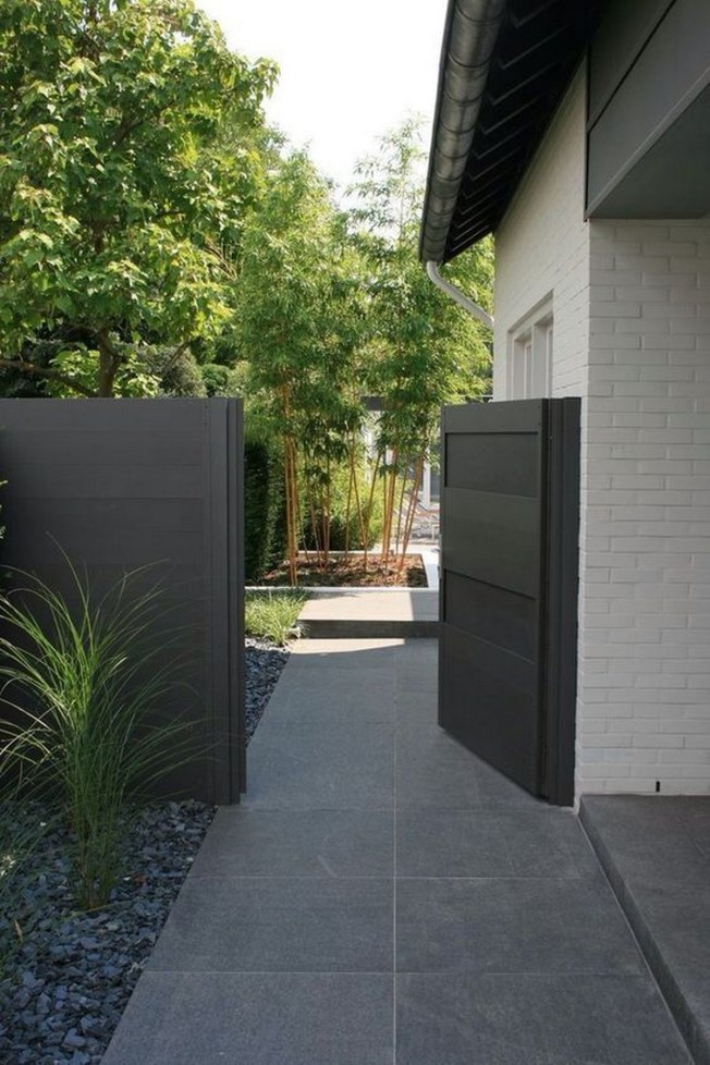Creative Fence Gate Ideas For Your Home ☼ Via Allenrothhq