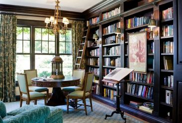 Designer Timothy Corrigan Transforms A Los Angeles ⊶ Via Popsugar #HomeLibraryDesign
