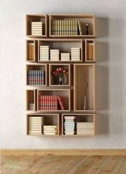 Diy Bookshelves Home Project Ideas That Work ⊶ Via Domino #BookshelfIdeas