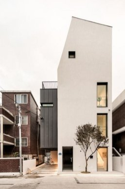 Facade Design ⊶ Via Post.naver #FacadeHouse