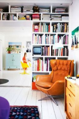 Fantastic Home Library Ideas For Book Love ⊶ Via Loombrand #BookStorage
