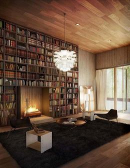 Fascinating Bookshelf Ideas For Book Enthusiast ⊶ Via Onekindesign #BookStorage
