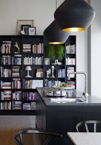 Here There And Everywhere Walls Of Books ⊶ Via Apartmenttherapy #HomeLibraryDesign