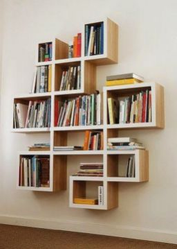Home Library Design ⊶ Via Unknown #BookshelfIdeas