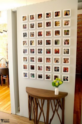 How to make a DIY Instagram Wall using your favorite photos from Instagram