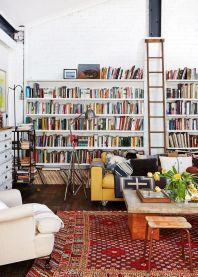 Interior Inspo Reading Room ⊶ Via Vanessabeletic #BookshelfIdeas