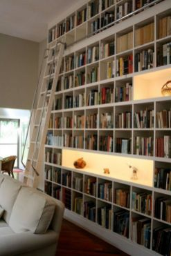 Jaw Dropping Home Library Design Ideas ⊶ Via Onekindesign #DreamLibrary