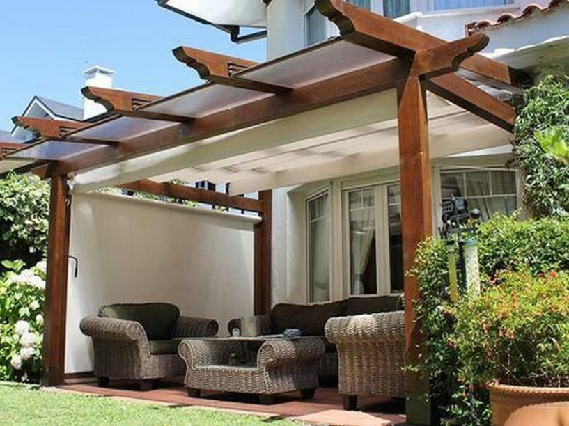 Pergola Attached To House Plans Pergolawithfi ☼ Via Pergolasbyte