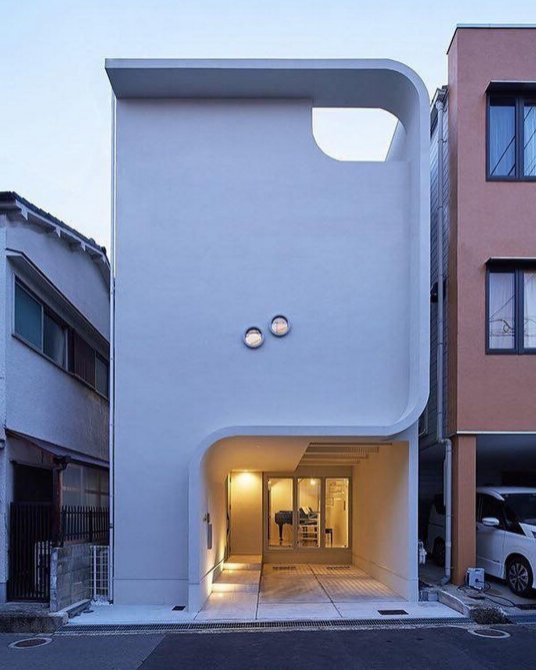 Really Love This Facade Modern House By Kadel ⊶ Via Instagracom #FacadeDesign