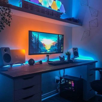 Setup Lindo Envie Suas Fotos No Direct ☼ Via Instagram #Ps4 Gaming Setup #Dream Rooms #Gaming Setup Xbox
