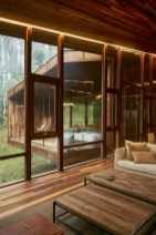 The Idyllic Countryside Retreat Casa LLU Is Nestled In Rich Foliage Within The Forests Of A Particularly Rainy Part Of Chile, The Los Ríos Region. The Project Was Designed By Santiago