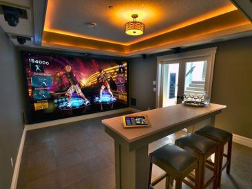 Video Game Room Ideas To Maximize Your Game ☼ Via Homegardenmagz #Gaming Room Setup #Quarto Gamer #Playstation Room #xbox Room