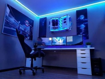 Video Game Room Ideas To Maximize Your Game ☼ Via Thedestinyformula #Gaming Room Setup #Quarto Gamer #Playstation Room #xbox