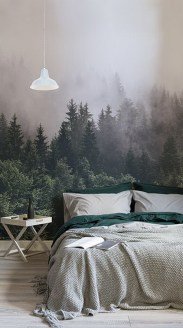 Why not try our woodlands wallpaper mural, with a scene of woodland trees this calming design is perfect for living rooms and bedrooms to create a relaxing aura