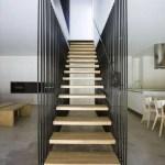 21 ideas escaleras de madera 13