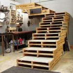 21 ideas escaleras de madera 21