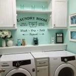 36 ideas para decorar y organizar tu cuarto de lavado - 24