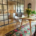 35 ideas de aplicación de pisos de madera laminada (26)