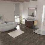 35 ideas de aplicación de pisos de madera laminada (31)
