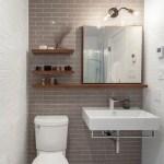 44 ideas para decorar y organizar baños pequeños (29)