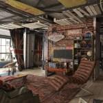 28 ideas de decoración para lograr un hogar con estilo industrial (16)