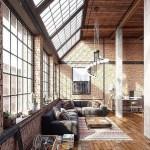 28 ideas de decoración para lograr un hogar con estilo industrial (27)