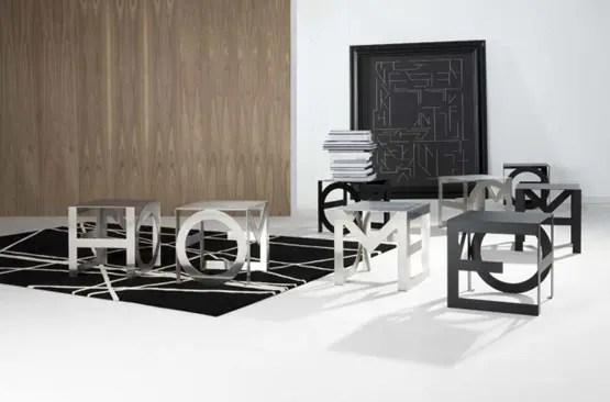 Una mesa auxiliar muy práctica y moderna