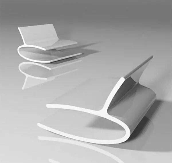 Diseños de mecedora insólitos e interesantes