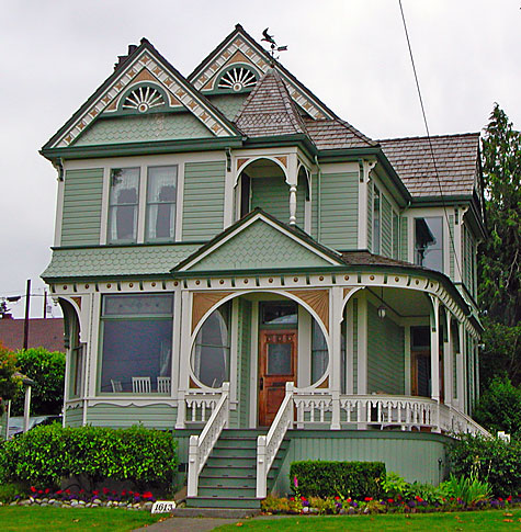Exterior Paint Colors Victorian Homes Photo 2
