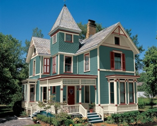 Exterior Paint Colors Victorian Homes Photo 3