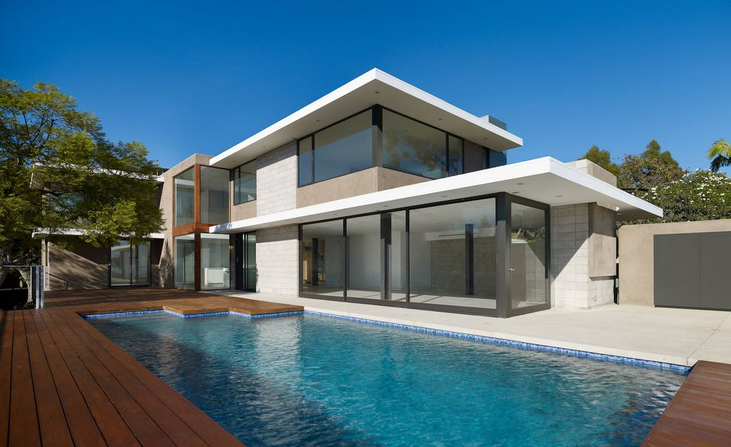 Modern Home Exterior With