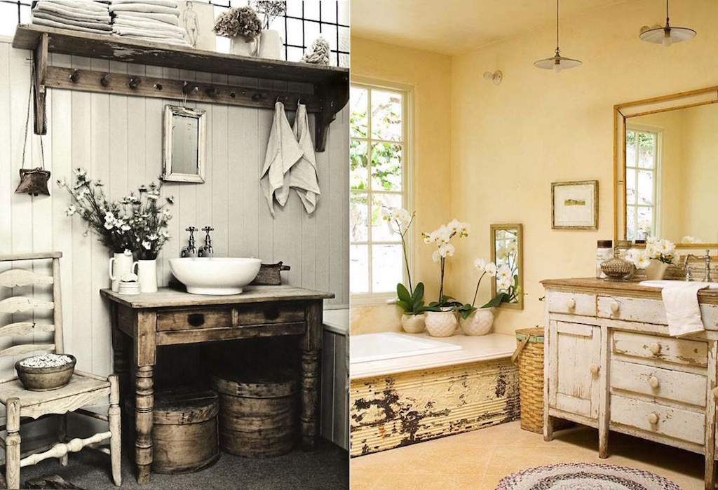 Cozy And Relaxing Farmhouse Bathroom Designs Interior God