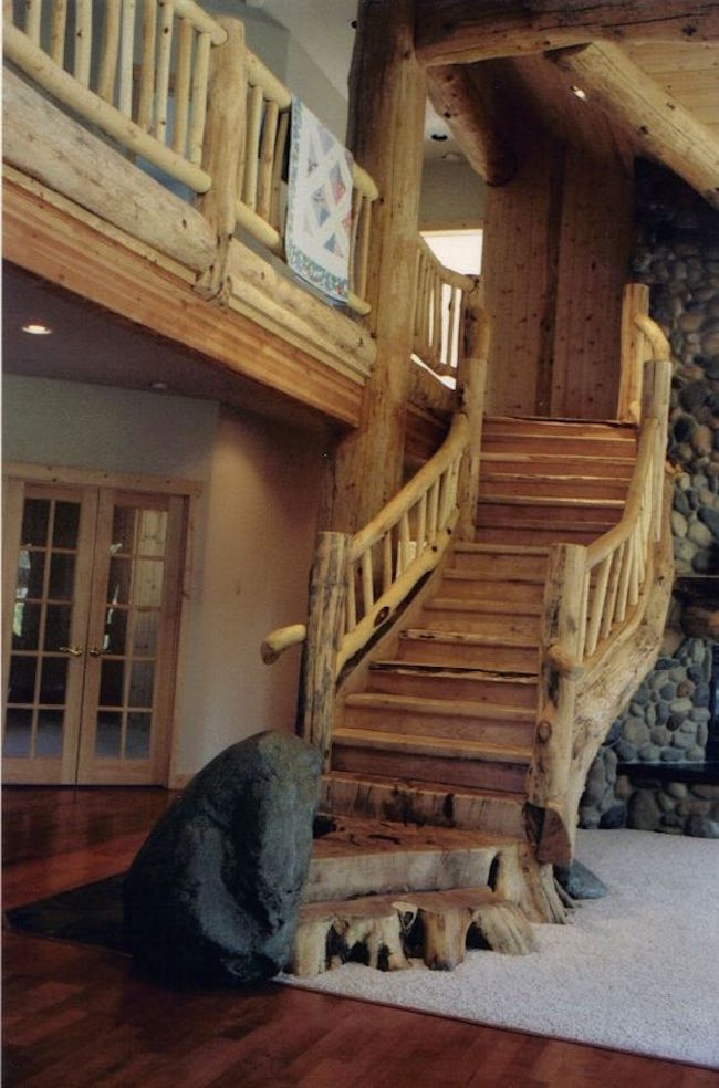 Wooden Balcony Railing Designs