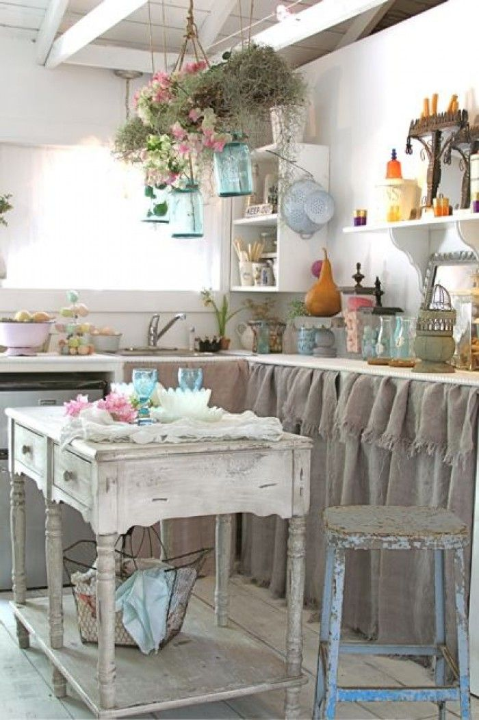 25 Cute Shabby Chic Kitchen Design Ideas Interior God