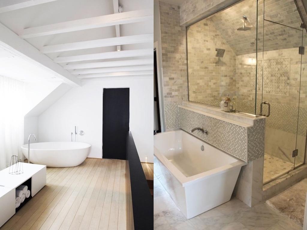 43 Useful Attic Bathroom Design Ideas Interior God