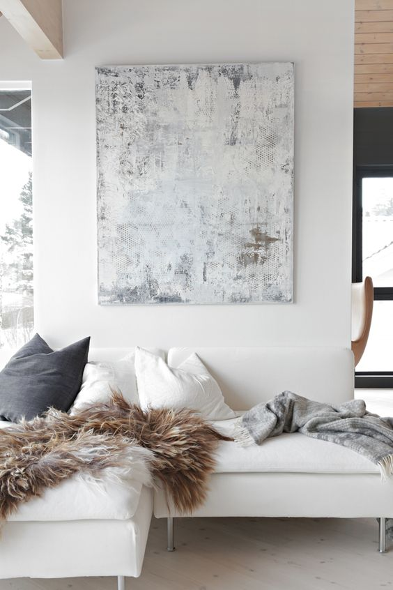 31 Beautiful Shades Of White Living Room Designs