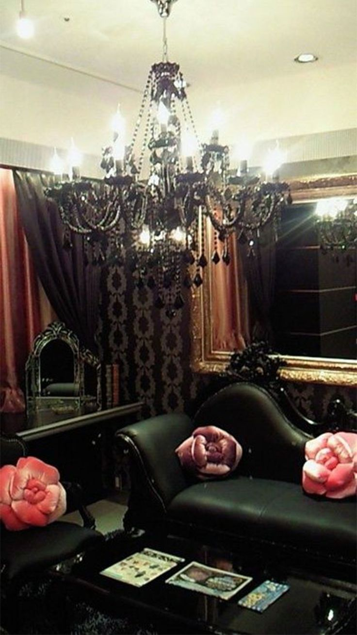 21 Dramatic Gothic Living Room Designs Interior God