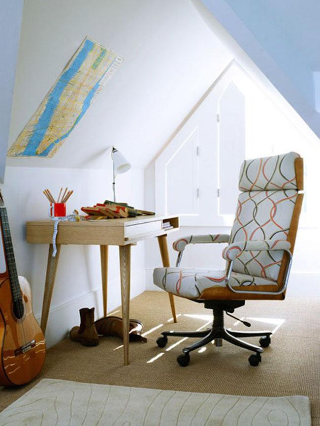 27 Attic Home Office Design Inspirations Interior God