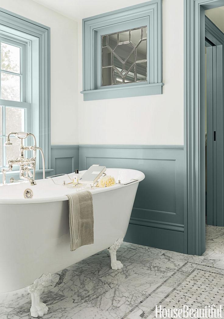 53 Refreshing Blue Bathroom Design Ideas Interior God