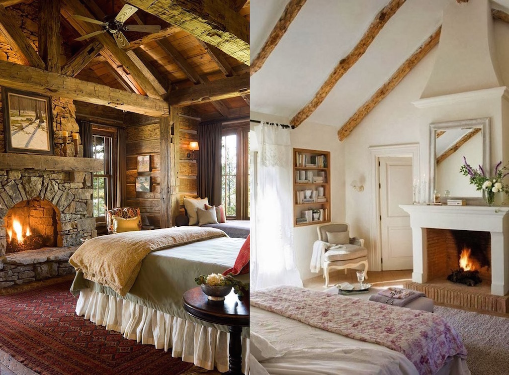 21 Cozy And Comfy Bedrooms With A Fireplace Interior God