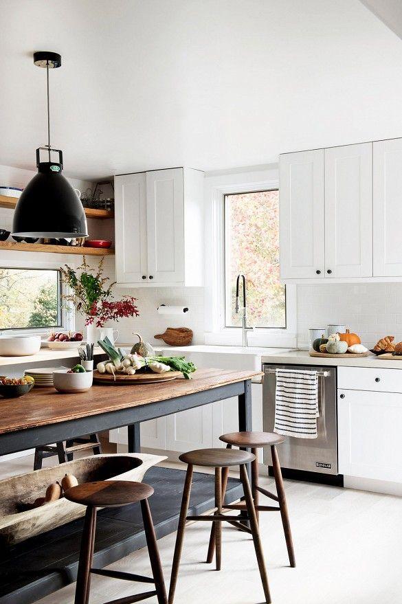 30 Cool Rustic Scandinavian Kitchen Designs Interior God