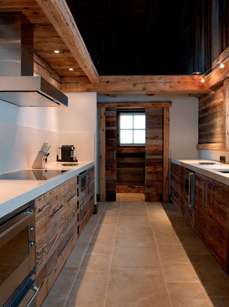 32 Fabulous Chalet Kitchen Designs To Get Inspired Interior God