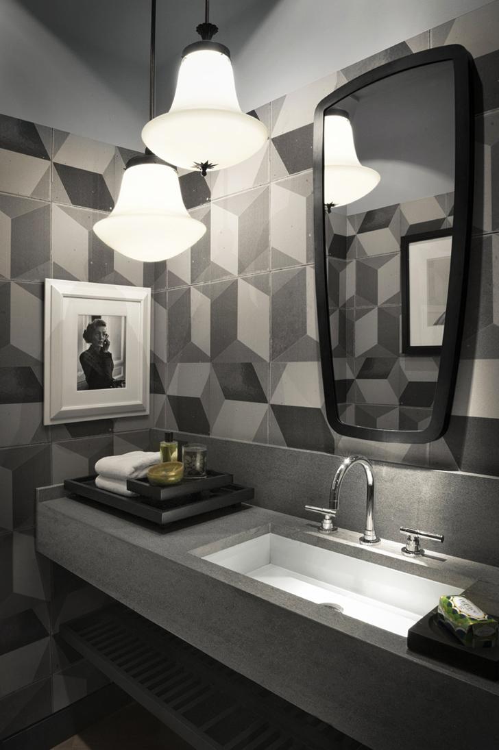 31 Modern Geometric Bathroom Design Ideas Interior God