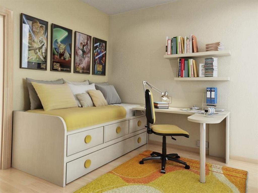 40 Amazing Teenage Bedroom Layouts