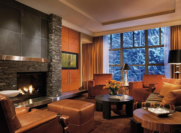25 Relaxing Earth Tone Living Room Designs Interior God