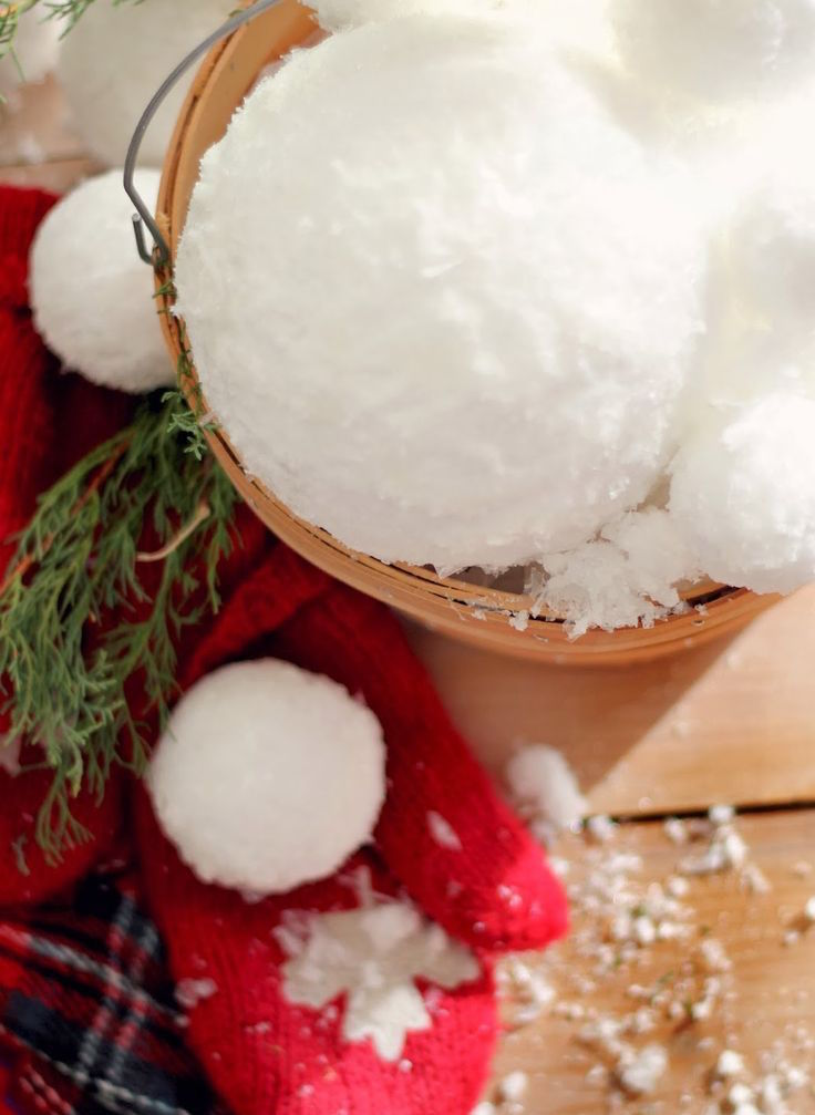 23 Snowball Christmas Decorations Ideas Youll Love
