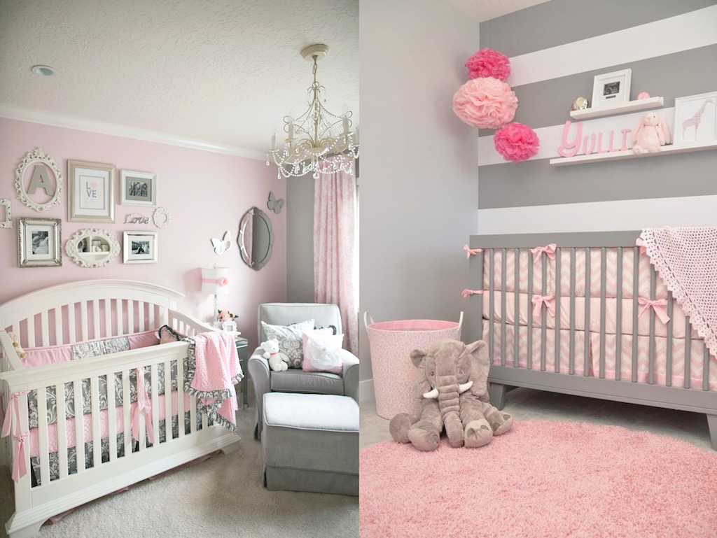 17 Pink Nursery Room Design Ideas For Your Baby Girls