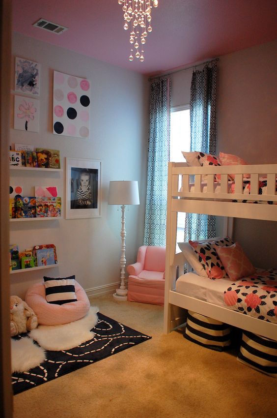 20 Impressive Girls Shared Bedrooms To Get Inspired