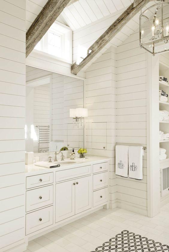31 Amazing Bathroom With Exposed Wood Beams Interior God