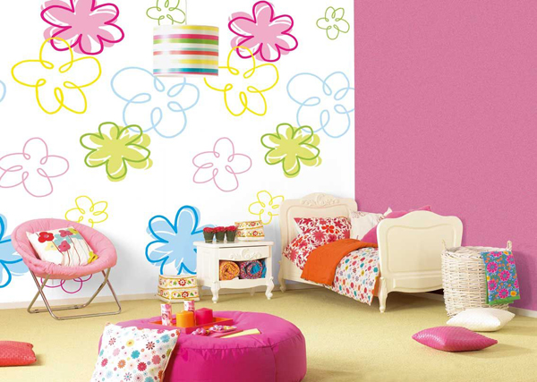 Color Scheme For Kid's Room